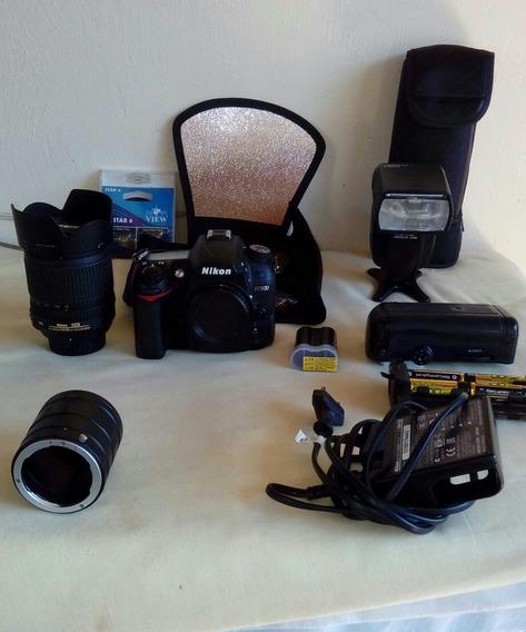 Vendo Camera Nikon D7000 Com Todos Os Acessorios.