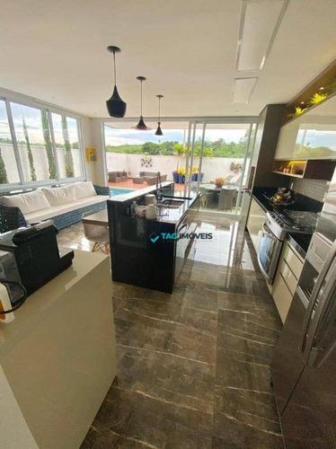Imagem 1 de 30 de Casa Com 3 Dormitórios À Venda, 267 M² Por R$ 1.390.000 - Chácara Alpina - Valinhos/sp - Ca0967