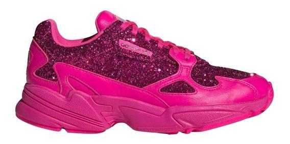 adidas Falcon Pink Glitter Fucsia Exclusivas 7.5us Caja