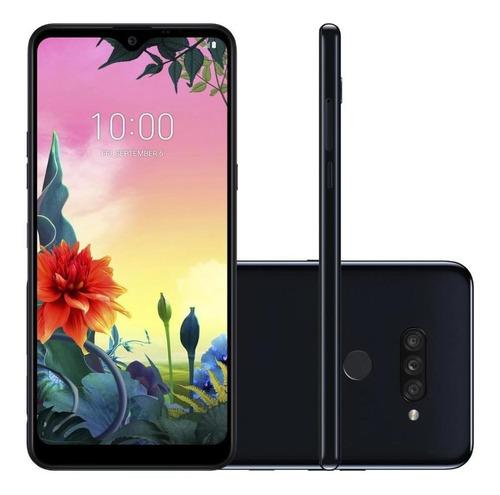 Smartphone LG K50s Lmx540bmw 32gb Android 9.0 Preto