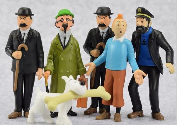 Tintin Milú Capitão Haddock Dupond Dupon Hergé Moulinsart