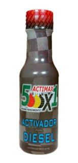 Ahorrador De Diesel Actimax 5000x1 Super Aditivo 5 Piezas