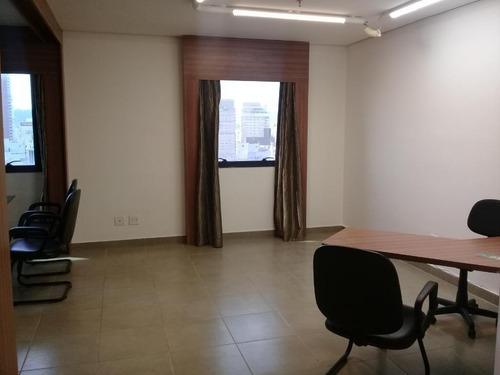 Sala Comercial Para Alugar, 40 M² Por R$ 2.653/mês - Boqueirão - Santos/sp - Sa0221
