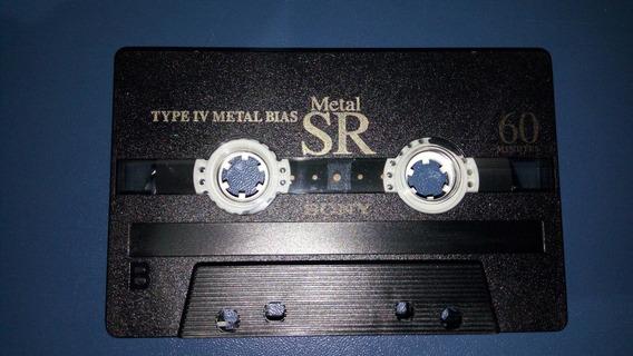 Fita Cassete K7 Sony Metal Sr 60 Min