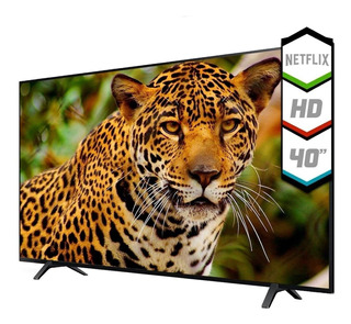 Smart Tv 40 Pulgadas Led Hd Kanji Netflix Youtube Android