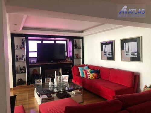 Cobertura Com 4 Dormitórios À Venda, 500 M² Por R$ 3.300.000,00 - Vila Maria Alta - São Paulo/sp - Co0019