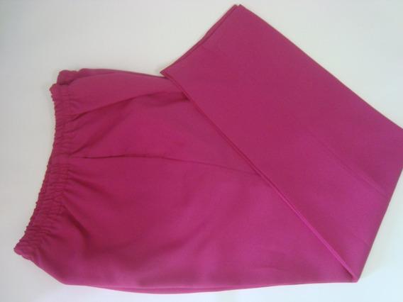 Pantalon De Vestir Dama Talla 14 Color Fucsia Nuevo