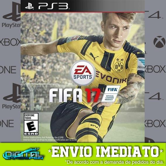 Fifa 17 Ps3 Psn Midia Digital Em 10 Minutos!
