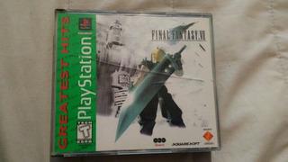 Final Fantasy 7 Vii Playstation Ps1 Completo 3 Discos