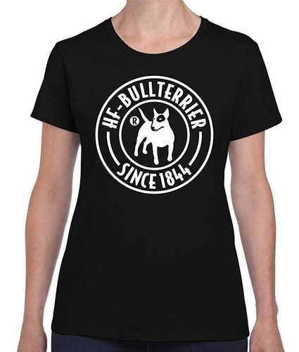 Remeras Mujer Bull Terrier Hf ® Dog Thinker Pack X 12