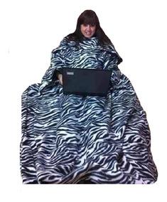 Cobertor De Tv Com Mangas - Kit Com 07 Peças -
