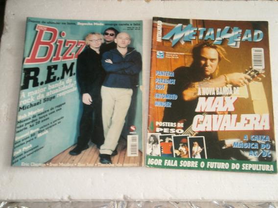 20 Revistas De Rock Por R$ 61,00