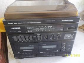 Radio Toca Discos International Double Cassette Sem Teste