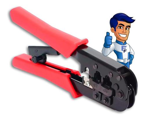 Imagem 1 de 3 de Alicate Para Crimpar Plug Modular Gc-568r Com Catraca