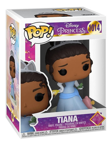 Imagem 1 de 5 de Funko Pop Disney Princess - Tiana 1014 Princesa Sapo