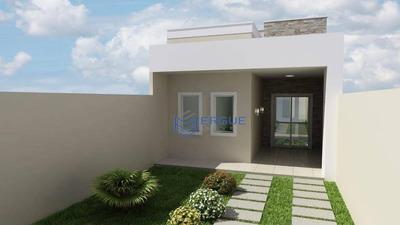 Excelente Lançamento De Casas Planas!!!!! - Ca0797