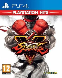 Street Fighter V Ps4 - Recibí Hoy! Mejor Sin Disco,leer 2°