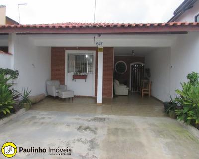 Casa Para Locação De Temporada Ou Definitiva Na Praia De Peruíbe A 200 M Da Praia - Ca02800 - 32191394