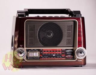 Parlante Radio Mp3 Con Linterna