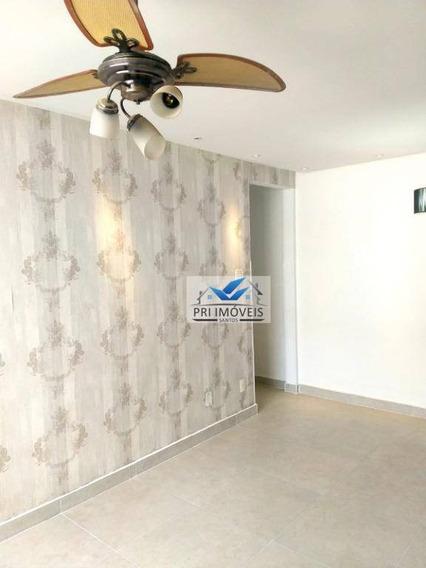 Apartamento Para Alugar, 100 M² Por R$ 1.900,00/mês - Marapé - Santos/sp - Ap1222
