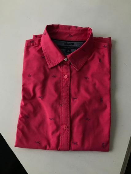 Camisa De Mujer Importada Tommy Hilfiger S/m