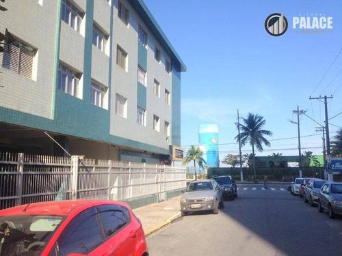 Imagem 1 de 14 de Apartamento Com 1 Dormitório À Venda, 44 M² Por R$ 145.000,00 - Tupi - Praia Grande/sp - Ap2787