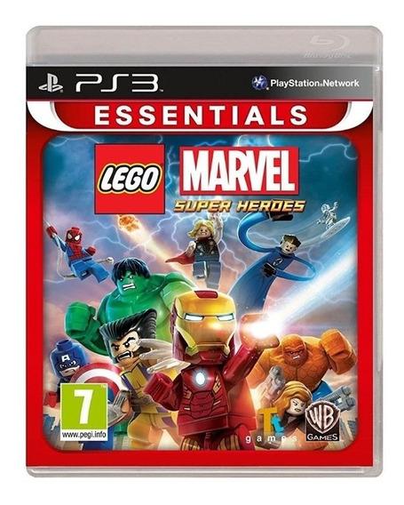 Lego Marvel Super Heroes - Ps3 Mídia Físca Lacrado