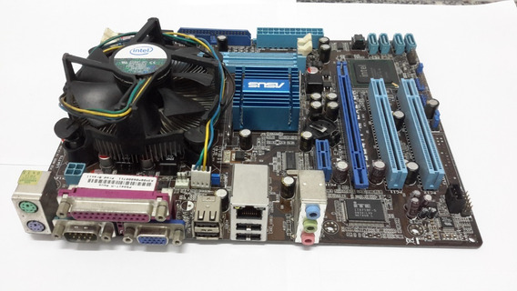 Placa Mae Asus P5g41t-m Lx2/br C/ Proc Dual Core 2.70ghz