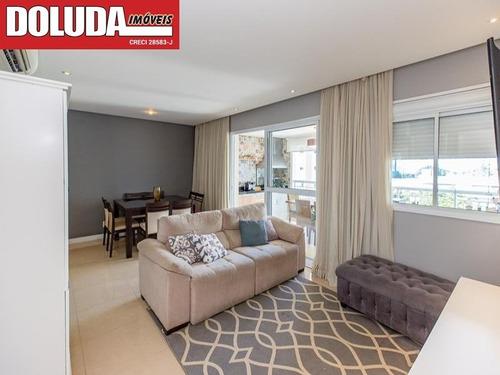 2 Dormitórios (1 Suíte Com Closet ), Living Para 2 Ambientes, Cozinha Americana, Varanda Envidraçada - Ap01472 - 69344422