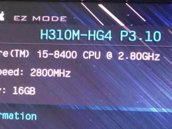 Placa-mae Asrok H310m-hg4