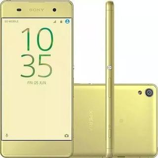 Celular Sony Xperia Xa F3116 Dual Novo + Sd 32gb