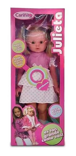Muñeca Julieta Gigante Que Habla! - Toyspalace