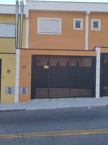 Imagem 1 de 22 de Sobrado Com 2 Dormitórios À Venda, 58 M² Por R$ 420.000,00 - Parque Oratório - Santo André/sp - So0479