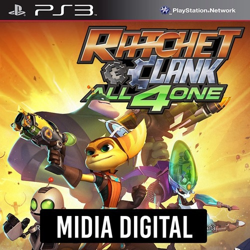 Ratchet & Clank All 4 One - Ps3 Psn*