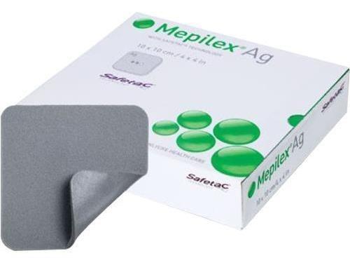 Mepilex Ag 10x10 Cm Caja C/5