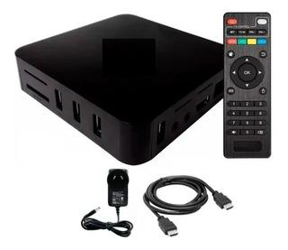 Conversor A Smart Convertir Tv Box 2/16gb Android 7 Wifi 4k