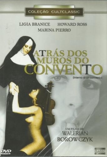 Dvd - Atrás Dos Muros Do Convento