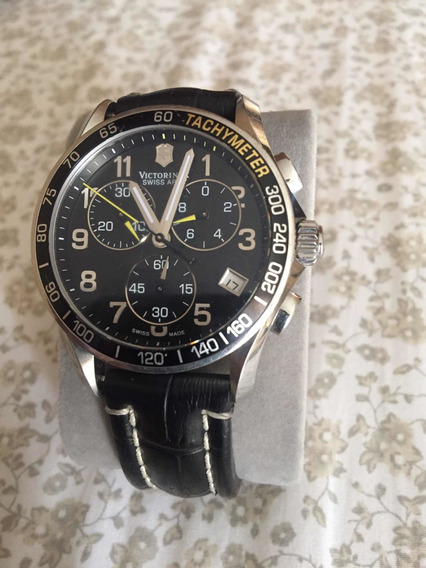 Usado Reloj Victorinox Chrono Classic 241316 Negro