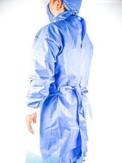 Bata Quirurgica Desechable Esteril 50 Gr 10 Pzas