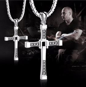 Colar Velozes Original Toretto Diesel Jóia Cruz 5cm Ou 7cm