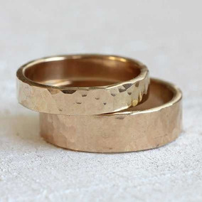 Juego De Aniversario, Argollas De Matrimonio Plata/oro 14k