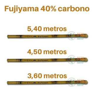 Kit 3 Varas Pesca Telescópica Bambu Fujiyama Ottoni