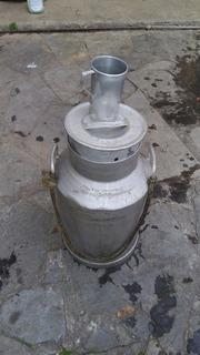 Garrafa Lechera De 40 Litros 100% Aluminio