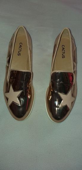 Zapatos Cactus Para Damas Originales Suela Alta