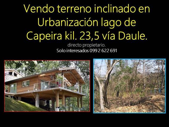 Terreno Lago Capeira De 1110 Metros Cuadrados Directo Dueño