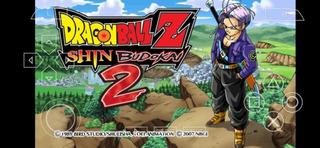 Juego Para Celular Dragon Ball Shin Budokai 2 Psp
