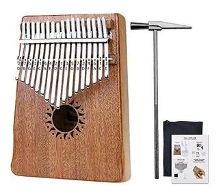Rahano Thumb Piano 17 Tecla Kalimba Dedo Percusion Teclado M