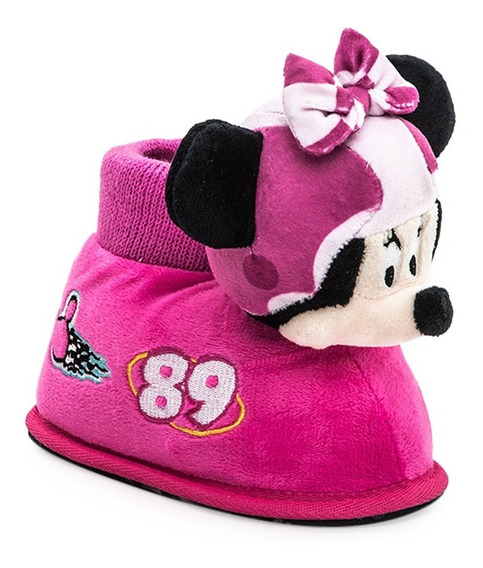 Pantuflas Addnice Minnie Carrera Disney Peluche