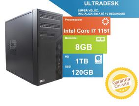 Ultradesk Tob New High Com Intel Core I7 7700 8gb De Memória