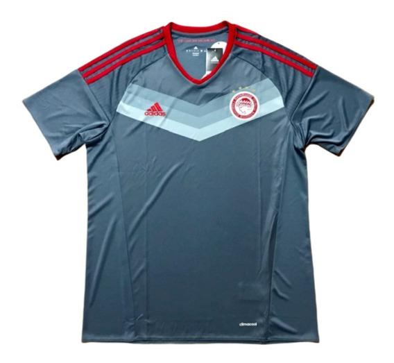 Camisa Olympiacos adidas 2016/2017 Sambaquifut